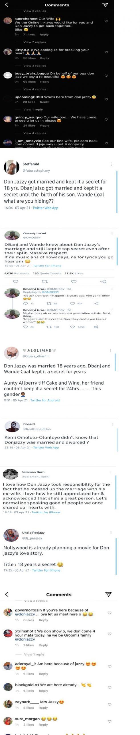 Donjazzy Failed marriage 22