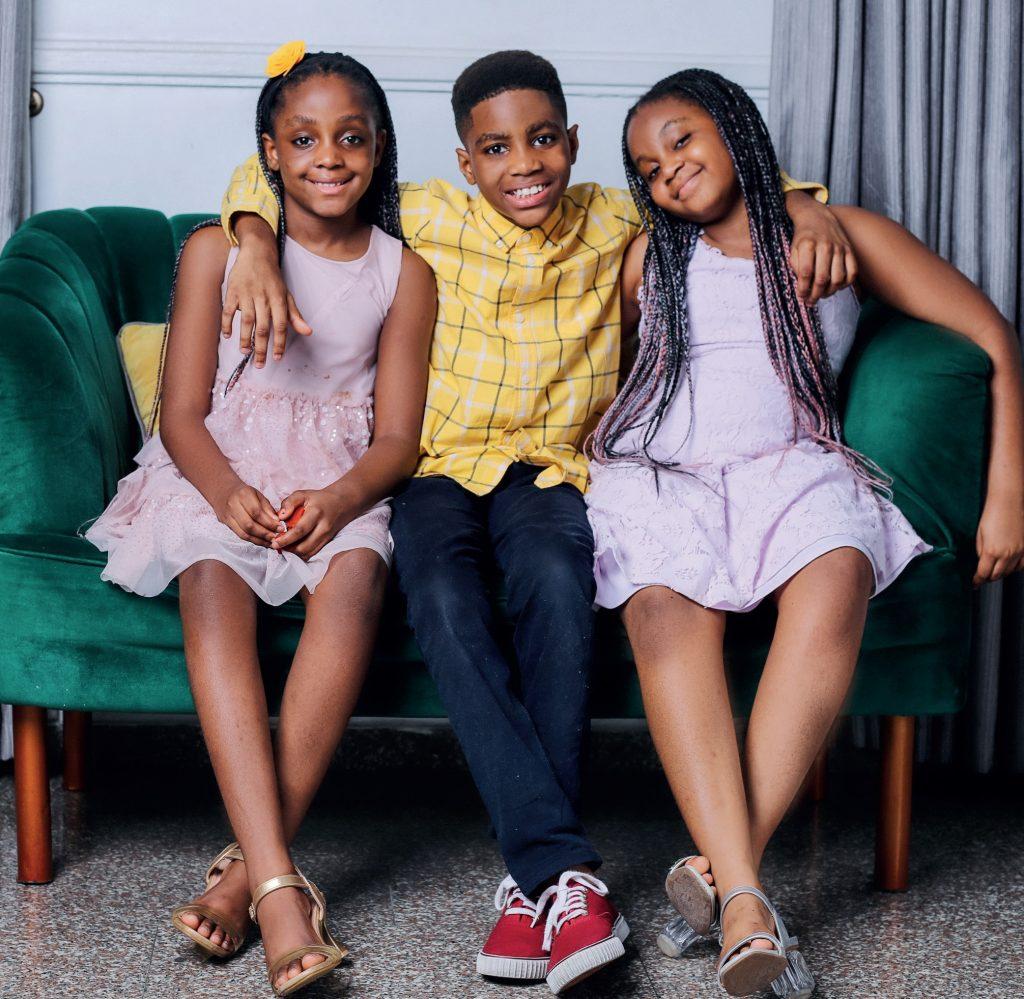 Timi Dakolo's Children