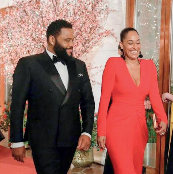 Tracee Ellis Ross & Anthony Anderson