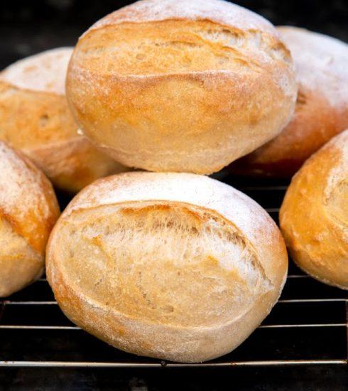 crusty dinner rolls