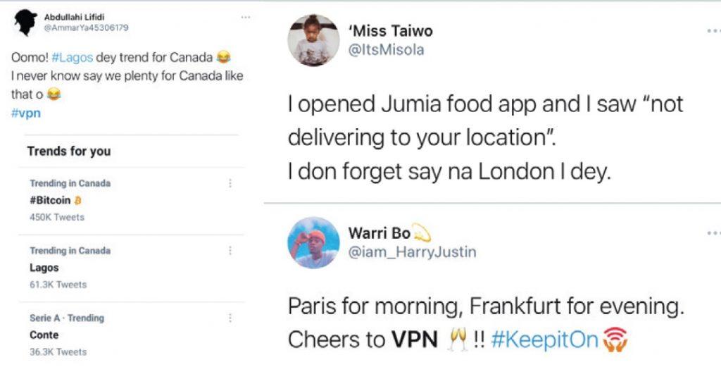 VPN Reactions