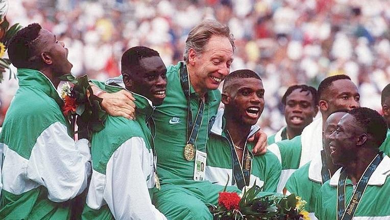 Nigeria Team at Atlanta 96