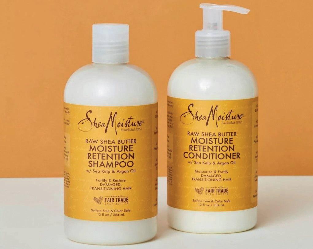 Raw Shea Butter Shampoo and Conditioner SHEA MOISTURE