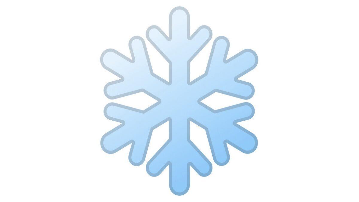 Snow FLakes emojis