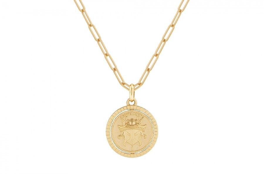 Flipside Sovereign Gold Pendant STEPHEN WEBSTER (2)