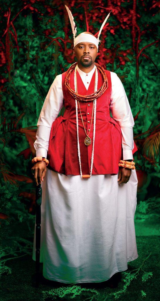 Ogiame Atuwatse III Portrait
