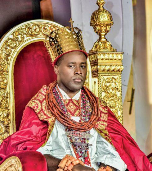 Ogiame Atuwatse III on Throne