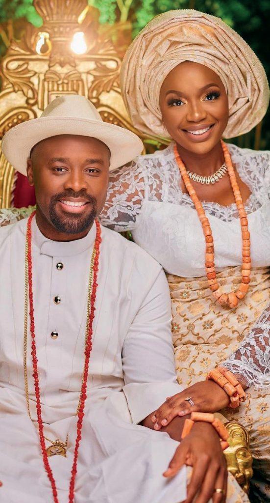 Ogiame Atuwatse III with Wife