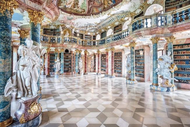 Wiblinglen Abbey Library – Ulm,