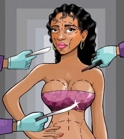 Body Enhancment Carricature