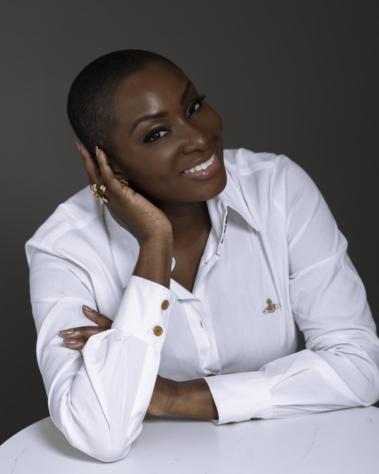 Dr. Hilda Titiloye Photographed by Afolayan Photography Abuja
