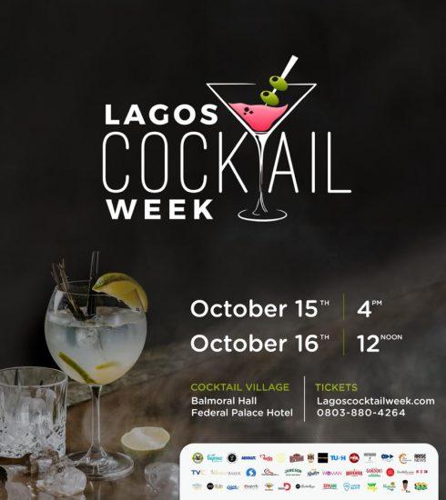 Lagos Cocktail Week 2021 Announces Week Long Activities